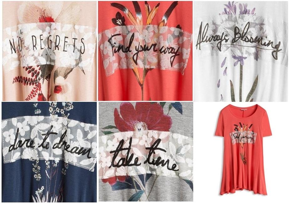 Camiseta para mujer edc by Esprit (varios colores)