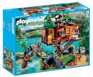 Casa del árbol de aventuras Playmobil