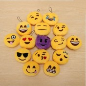 Pack de 15 llaveros emoticonos