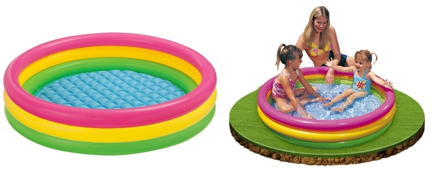 Piscina hinchable Intex Sunset