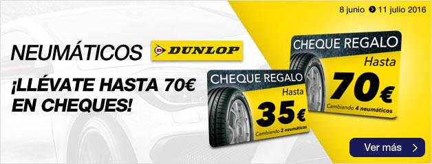 Promoción Norauto neumáticos Dunlop