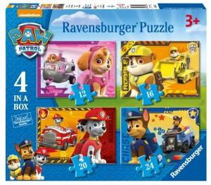 Puzzle progresivo Ravensburger de la Patrulla Canina