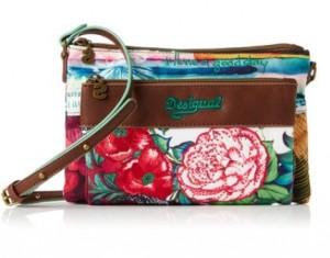 bandolera Desigual floral multicolor