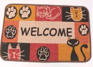 Alfombra de bienvenida WELLCOME