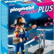 Bombero con boca de incendios Playmobil 4795