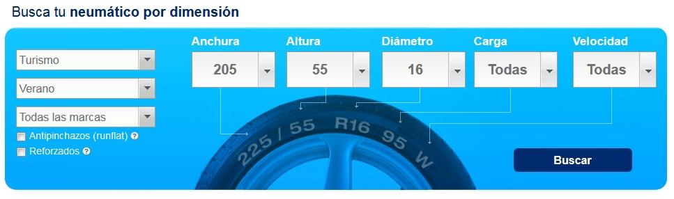 Busca tu neumático en Norauto