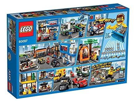 La plaza de la ciudad de Lego City 60097
