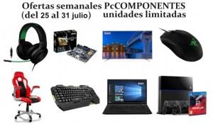 Ofertas semanales PcComponentes (del 25 al 31 de julio)