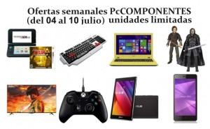 Ofertas semanales PcComponentes (del 4 al 10 de julio)