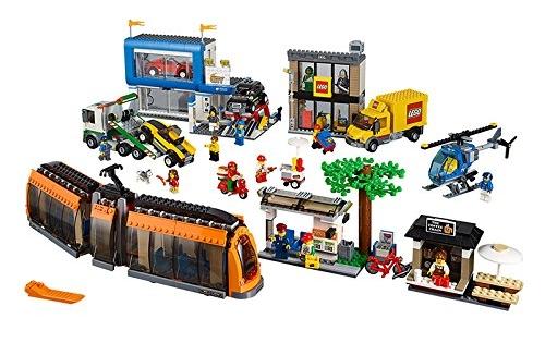 Plaza de la ciudad de Lego City 60097