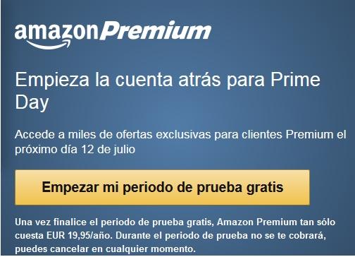 Probar Amazon Premium gratis