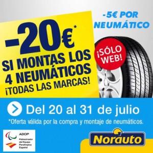 Promoción Norauto neumáticos
