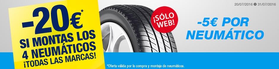 Promoción neumáticos en Norauto