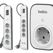 Regletas de protección contra sobretensiones Belkin