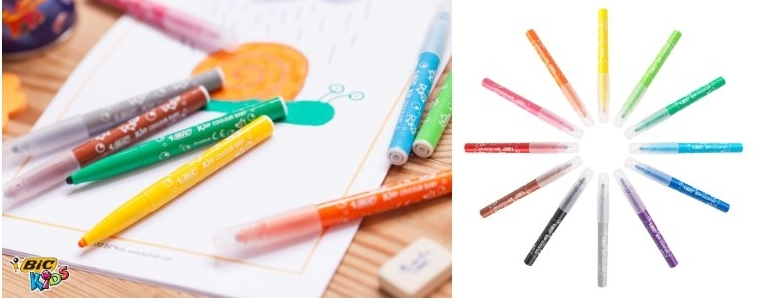 Rotuladores Kid couleur Baby de Bic