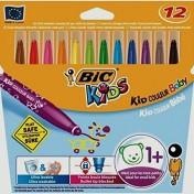 Rotuladores infantiles con tinta lavable Kid couleur Baby de Bic