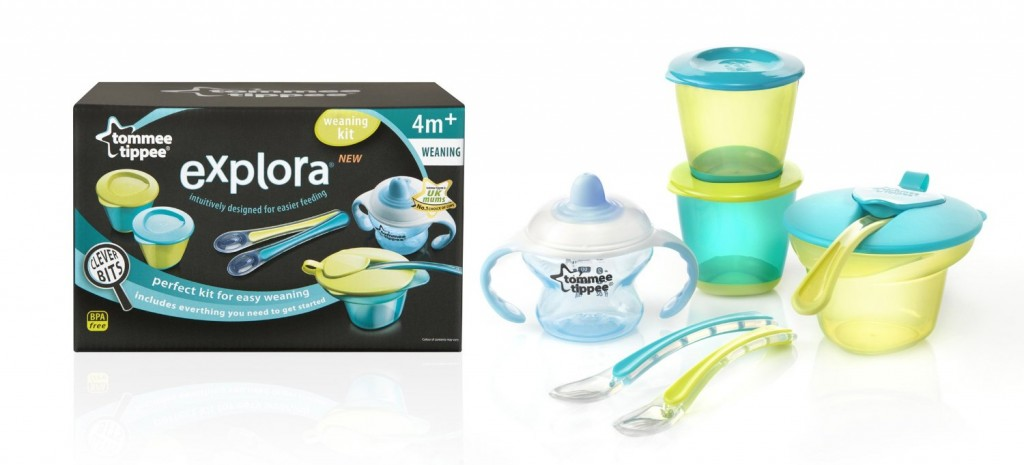 Set de destete Tommee Tippee Explora en dos colores