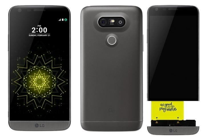 Smartphone LG G5 H850 batería extraíble