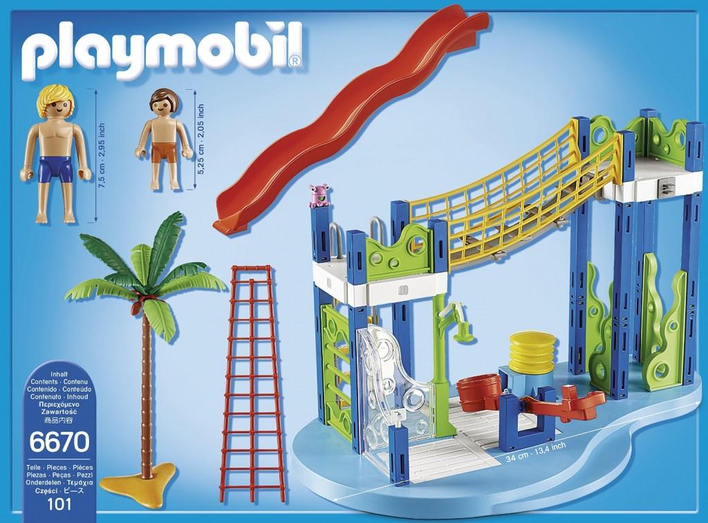 Zona de juegos acuática de Playmobil 6670