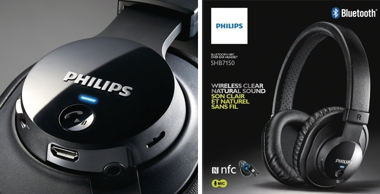 Auriculares Philips SHB7150FB