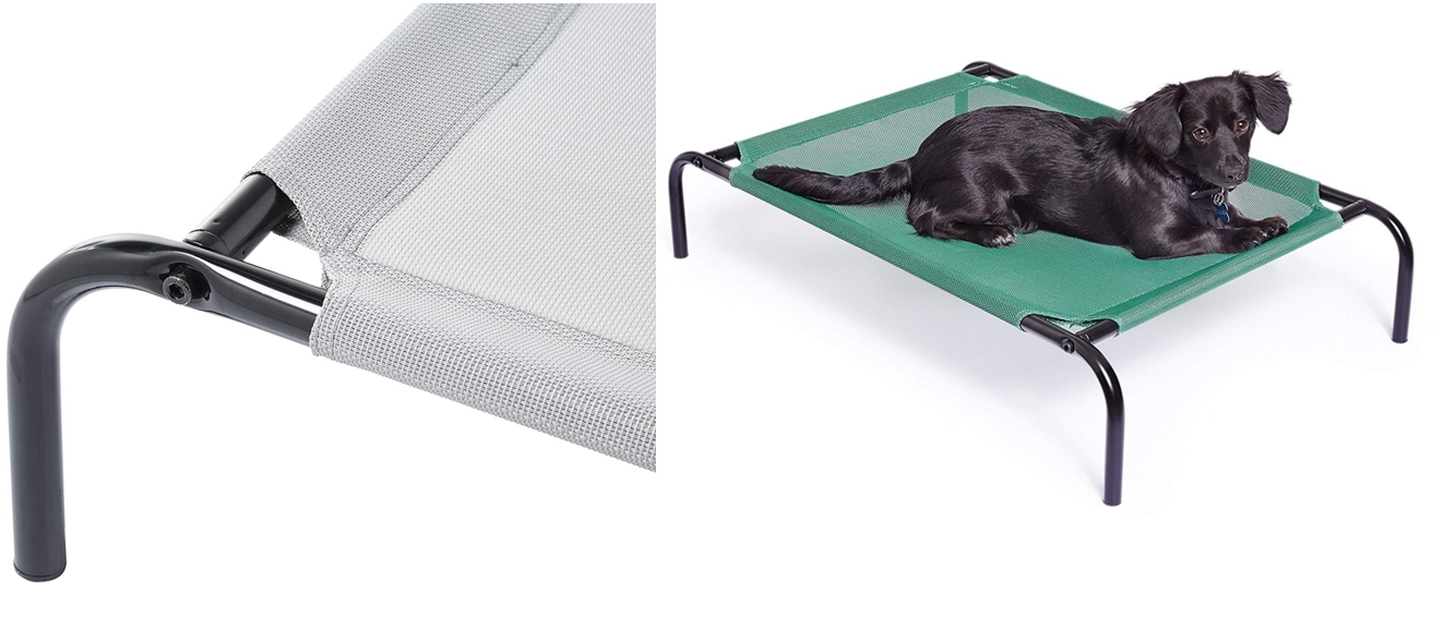 Cama para mascotas anticalor elevada AmazonBasics