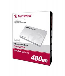 Disco SSD Transcend de 480GB