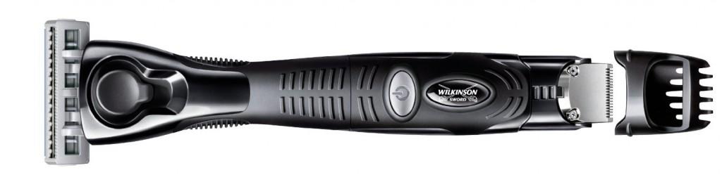 Maquinilla  afeitar con recortador Wilkinson Sword Quattro Titanium Precision