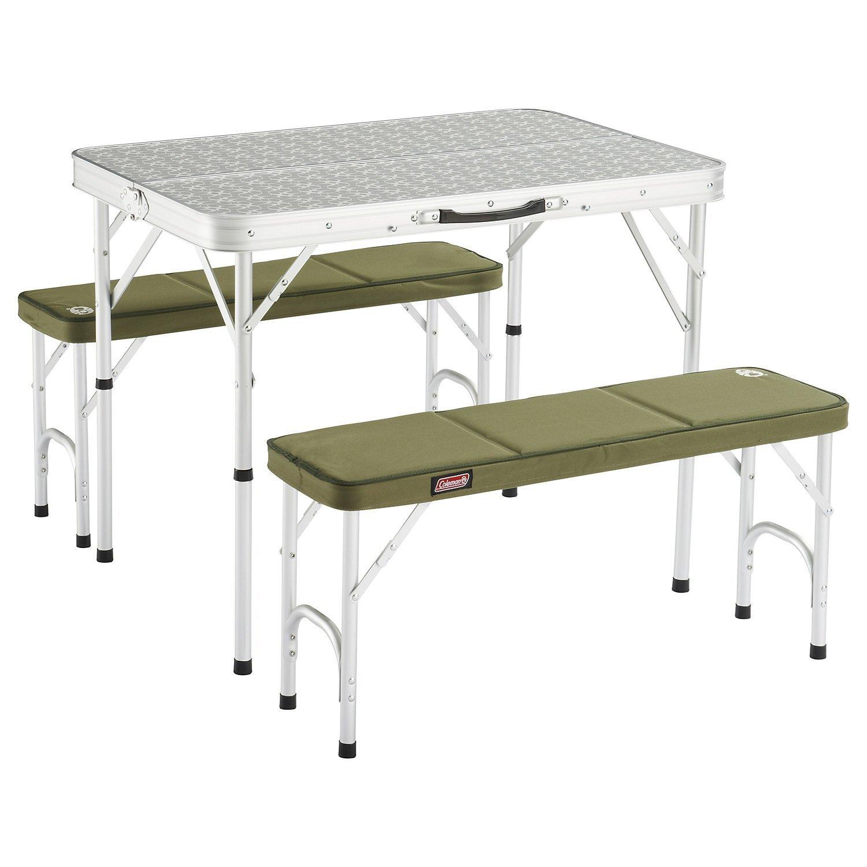 Mesa de camping coleman 205584 para cuatro personas for Mesas de camping plegables baratas