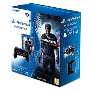 Pack Mando DualShock 4 + Uncharted 4 PS4