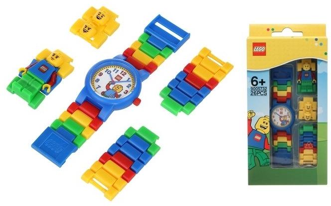 Reloj de pulsera infantil Lego