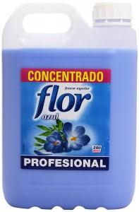Suavizante concentrado Flor frescor Azul envase de 5kg