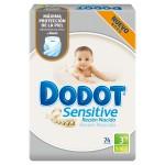 pañales para bebé talla 3 Dodot Sensitive