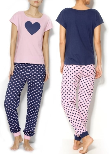 pijama-de-manga-corta-mujer