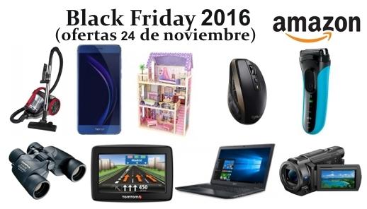 Black Friday 2016 Amazon Ofertas 24 Noviembre