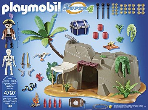cueva-pirata-playmobil-4797-super-4-contenido