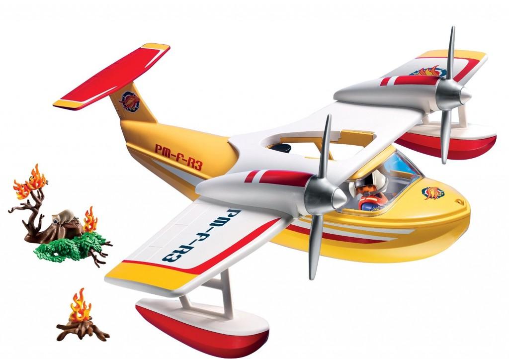 hidroavion-de-extincion-de-incendios-playmobil-5560-contenido