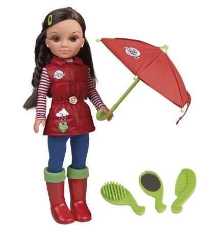 Nancy días de lluvia con accesorios