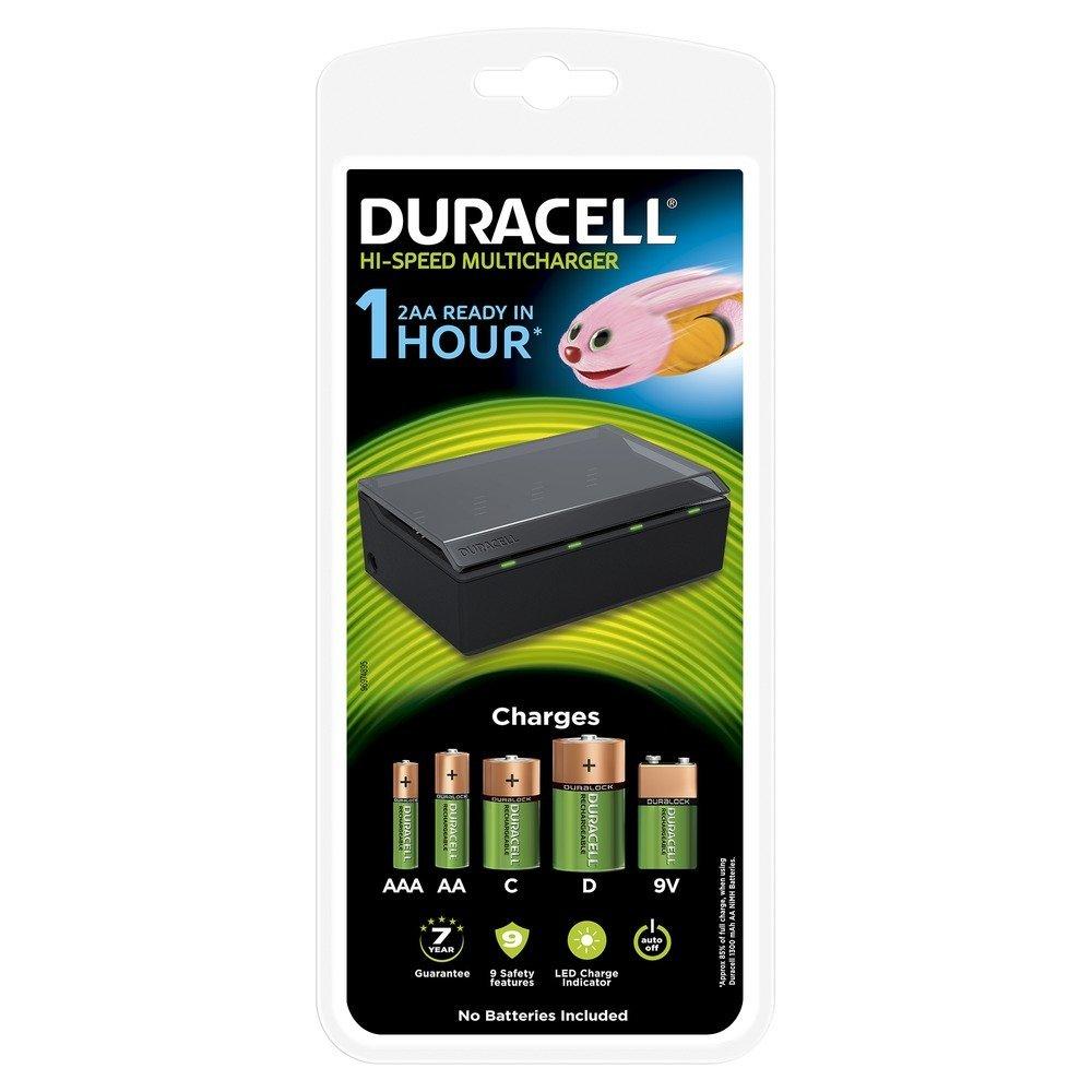 Cargador de pilas múltiple Duracell CEF22-EU