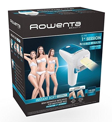 Depiladora luz pulsada IPL Rowenta EP9600 Instant Soft Compact