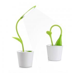 Lámpara escritorio LED forma de planta iEGrow