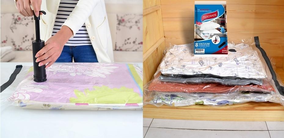 Pack 8 bolsas almacenamiento al vacío Tiergrade