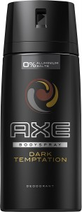 Pack tres desodorantes Axe Dark Temptation