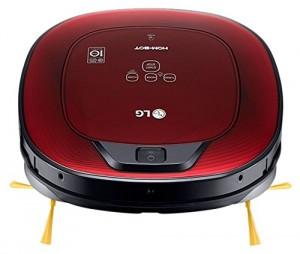 Robot aspirador silencioso LG VR8602RR Hombot Square Turbo Serie 9+