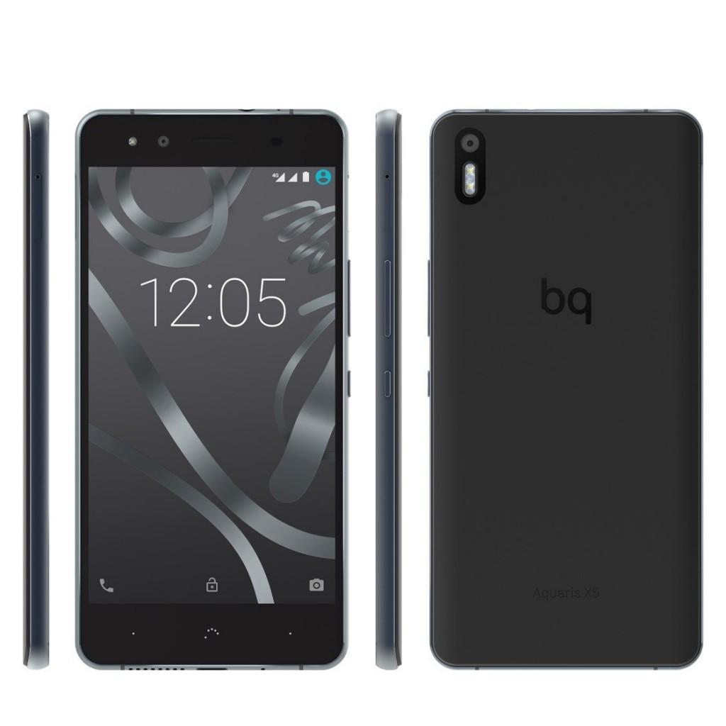 Smartphone BQ Aquaris X5 negro