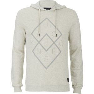 Sudadera con capucha Jack & Jones en color blanco