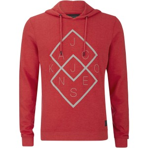 Sudadera con capucha Jack & Jones en color rojo