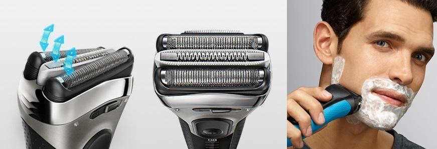 Afeitadora eléctrica Braun Series 3 3040 Wet & Dry