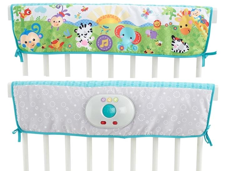 Duermebebés sueños felices Fisher-Price por delante y detrás