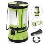 Lámpara de acampada 3 en 1