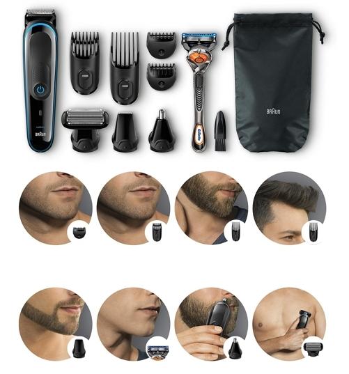 Set de afeitado Braun MGK3080